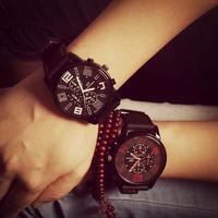 2014 new fashion silicone strap luxury brand military watch Unisex Stylish Quartz Analog men Watch Christmas gift free shipping