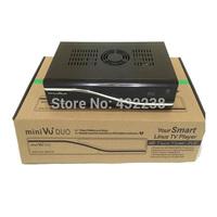 VU DUO MINI VU+DUO Twin Tuner Decoder Linux OS 405mhz Processor Support Original vu+ Software