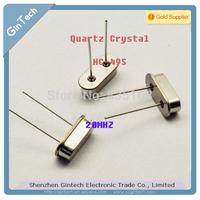 quartz Crystal 20m 20.000mhz  passive Crystals  Crystal  oscillator  HC-49S DIP