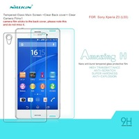For Sony Xperia Z3 New Arrival NILLKIN Amazing H Nanometer Anti-Explosion Tempered Glass 9H Screen Protector Film
