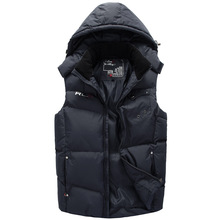 L-XXXL 2014 New Hot High quality Brand New fashion leisure vest keep warm Men's polo Vest Jacket&Outerwear 3 Color Free shipping(China (Mainland))