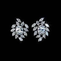 Hot Bride Cubic Zirconia Earrings CZ Earrings Women