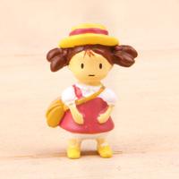 5pcs/set Home deco Mini action & toy figures Hayao Miyazaki Anime Totoro Resin stand May with bag Cartoon DIY Garden accessorie