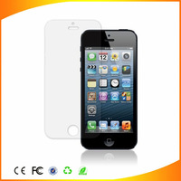 Factory wholesale 2 pcs/lot= front+back with clean cloth for apple iphone 5 5s 5c screen film protetor