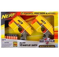 Free Shipping Nerf Scout IX-3 2-Pack 12 Whistler Darts Blaster Soft Bullet Toy Gun Nerf Gun