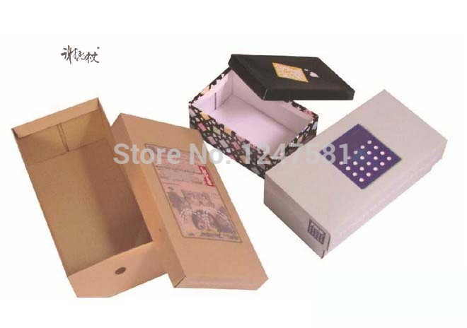 Hangzhou manufacturer supply Custom shoe box design for packaging ecofriendly recyclable shoe paper box best price wholesale(China (Mainland))