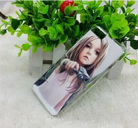 2D hard case for iphone 6 4.7inch Sublimation PC case with aluminium metal sheet with glue 20pcs/lot Free shipping !