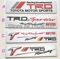 20pcs 3D TRD alloy Aluminum Badges Emblem D016