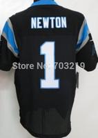 Cam Newton Elite Jersey Wholesale 18.5usd/pc Carolina Cam Newton Jerseys Black #1 Newton Elite Jersey Free Shipping