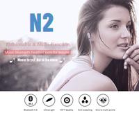 Bluetooth Headset Bluedio N2 Wireless Headphone HIFI Sport Stereo Earphones with MIC Multi-point Handsfree Sweat Proof
