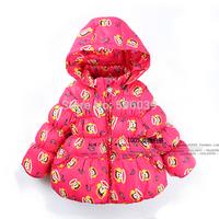 2014 autunm winter children outwear kids clothing fashion girls down coat child parkas baby jacket