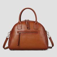 Women Handbag Zipper Rushed Top Sale  100% Genuine leather Premium Brand Elegant handmade  cowhide  2014 Shells lady Bags