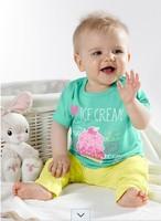 saia newborn baby boy sets brand boys clothes wholesale price character kid suits 3 pieces set infant summer clothing suit