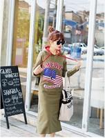 Free Shipping New 2014 Fashion Women Korean Autumn Elegant Temperament O-Neck Long Sleeve Cotton Hooded Dress 6838
