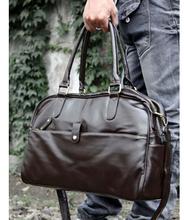 A Leather Men Travel Bag Simple Travel Bag In mens Briefcase High Quality Men Cool Shoulder Bag(China (Mainland))