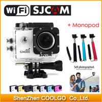 100% Original Wifi SJCAM Version SJ4000 1080P Full HD GoPro Cam Style Extreme Sport DV Action Camera 30M Waterproof Camcorder