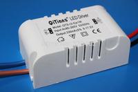 10PCS/Lot (3-5) x 1W LED driver 3w 4W 5W Constant Current drivers AC85V-265V to DC 9-17.5v 330mA  Plastic Case