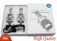 High Power Car Headlights Cree LED lights for H4 Auto Head lamp 60w 6000LM Bulb