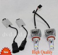 High Power Car Headlights Cree LED lights for H7 H9 H11 9005 Auto Head lamp 40w