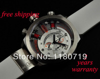 New Sales promotion Welder K38 Oversize Chronograph Steel K38 700 Unisex Watch White Rubber Strap K38-700 Mens Watch