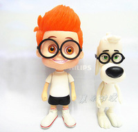 New Arrival Hot Animation Anime Movie Mr. Peabody And Sherman Cute 14CM PVC Figure Toys New In Original Box