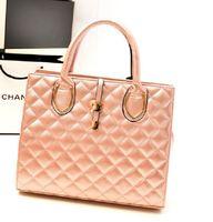 Christmas fashion rivet lock style women handbags UK popular  lady leather  W5566 Quilted Threads handbags