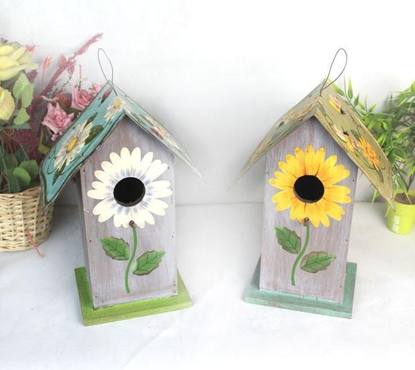 Jaulas Decoracion Comprar ~ Aliexpress com Comprar House bird madera madera nido de p?jaro del