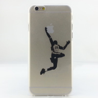 10pcs/lot  Hard PVC case for iPhone 6 case Painting basketball sports Air Jordan for apple 6 4.7 inch wholesale