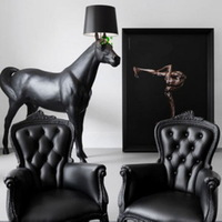Free shippingSimple European-style lights Belgium resin fashion fabric living room floor lamp bedroom lamp lighting F9025 study