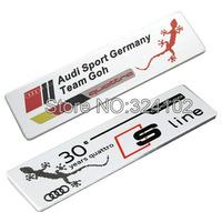 20pcs 3D Sline alloy Aluminum Badges Emblem D010