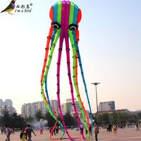 Weifang kite large octopus kite 23 meters octopus kite super nice soft kite