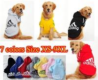 Pet Puppy Dog Cat Autumn Coat Clothes Hoodie Sweater Costumes Size S M L XL 9XL