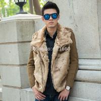 2014 Sale Freeshipping Solid Men Winter Jacket New Men Vestidos Winter Dress Jacks Coat Clothings Fashion Brand Thickening Male