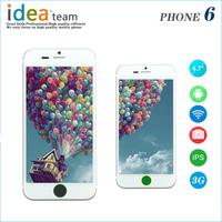 Perfect Aluminum orignal Goophone i6 Plus Phone 5.5 inch MTK6582 Quad Core Phone 2GB ram 16G/32GB 64G ROM 3G WCDMA 13MP camera