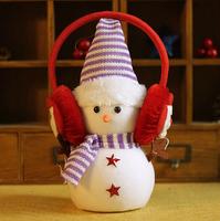 Free Shipping Chirsmas Decration Lovely Santa Clause Earmuffs Christmas Santa Clause Earmuffs