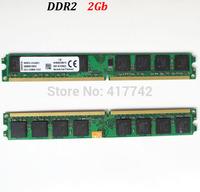 Memory ddr2 2gb ram  desktop memoria ram DDR2 800Mhz 667Mhz 533Mhz  / 2G 800 667 533 -- lifetime warranty -- good quality