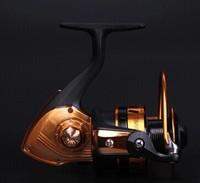 10BB 5000 Gapless Black Gold 0.35/275 0.4/210 0.5/135 rodas de fiar ruecas buque pesquero navio de pesca spinning wheel
