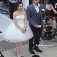 2014 Star Ariel same paragraph party dress lace wedding bridal tutu