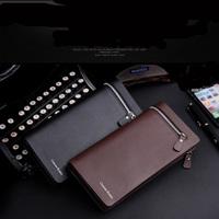 Free Shipping! New High quality Men's Fashion vintage Leather Long Zipper  wallets Man Purse Men Wallets C3297