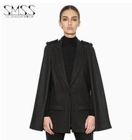 New 2014 casacos femininos women coat Women's Slim Double-breasted Woolen Coat Autumn Winter wool coat slim winter coat women
