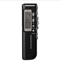 4G MP3 Digital Voice Recorder Black
