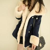 4062 free shipping 2014 autumn winter women new fashion 3colors plus size big faux fur collars slim coats ladies girls jackets