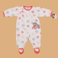 FREE SHIPPING NWT Carter's Baby / Infant Long Sleeve Sleepwear / Romper 2 Little Female Monkey 0~3months (104690)