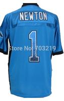 Wholesale 18.5usd/pc Cam Newton Jersey Cheap Carolina Cam Newton Drift Fashion Blue  #1 Cam Newton Elite Jerseys Free Shipping