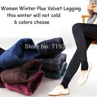 New Fashion Brand Casual Women Leggings Sexy Winter Warm Leggings Plus Velvet Thick Plus Size Free Shipping