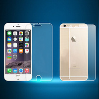 """2014 5.5"""" 3 set Clear LCD Screen Protector Cover for Apple iPhone6 Plus protective Film Guard with cleaning cloth film to phone"""