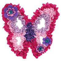 Child handmade diy educational toys handmade fabric butterfly birthday gift girls Free Shipping