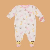 FREE SHIPPING NWT Carter's Baby / Infant Long Sleeve Sleepwear / Romper Let's play! 6~9months (104689)