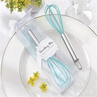 "LOWEST PRICE ""Something Blue"" Kitchen Whisk Bridal Shower Favors and Gift+20pcs/lot+FREE SHIPPING"