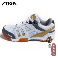 Hot sale Large Sizes stiga sports table tennis sneakers red ping pong Breathable shoes Unisex ! 2